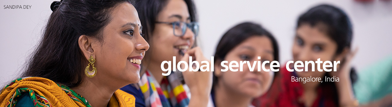 About the Global Service Centre - Bangalore