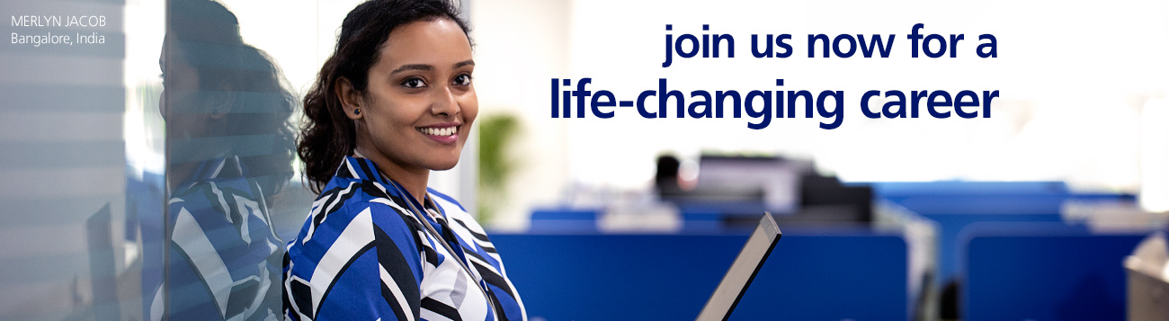 Join us for a life-changing career.